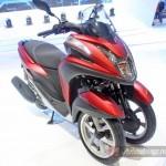 Обзор 3-колесного скутера Yamaha Tricity '2014