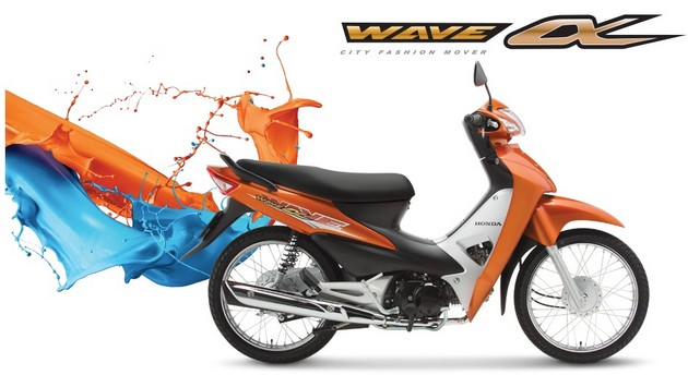 Скутер Honda Wave Alpha 2015