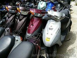 Скутеры б/у из Японии оптом - контейнерные поставки подержанных японских скутеров, мопедов, мокиков