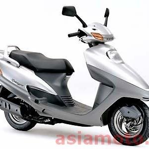 Японский скутер Honda Spacy 125 JF04 - оптом на asiamoto.ru