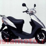 Японский скутер Suzuki Let's 2 CA1PA - оптом на asiamoto.ru