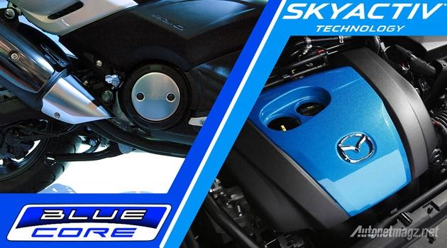 Технология Yamaha BlueCore vs Mazda SkyActiv