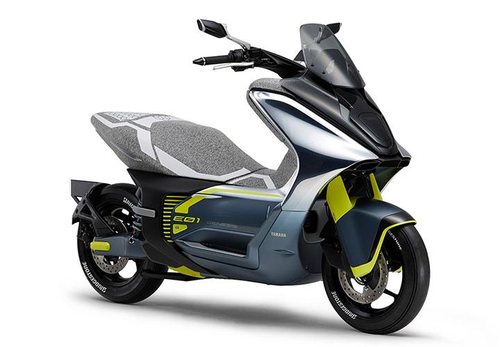 Электроскутер Yamaha E01
