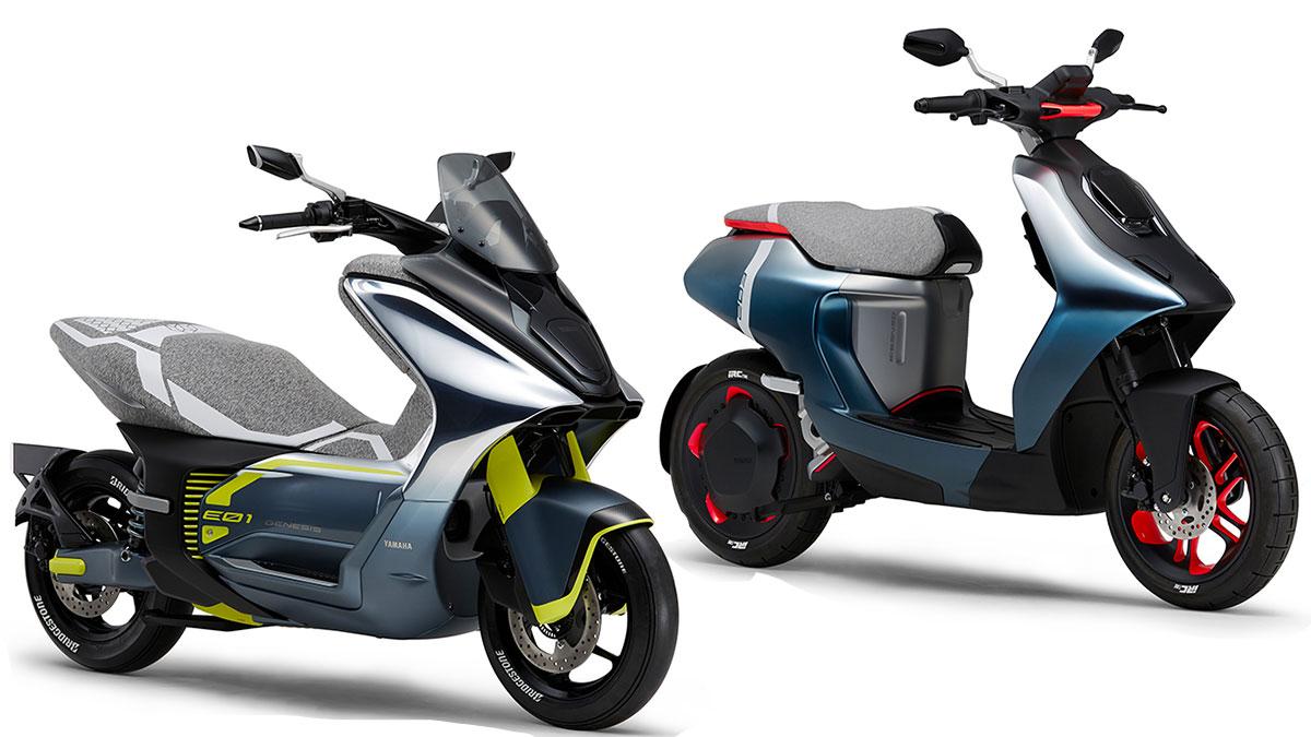 Электроскутеры Yamaha 2019